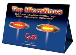 00951 by GROTE - DISPLAY, MICRONOVA® COUNTER TOP DISPLAY