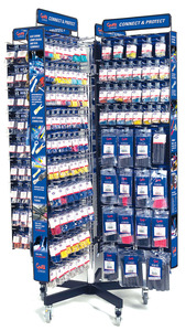 01062 by GROTE - 8 SIDED ELECTRICAL ACCESSORY DISPLAY