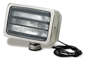 05151 by GROTE - Per-Lux® 500 Series Fog and Driving Lamps, All Weather Louvered, H9421, Single, Stainless Steel