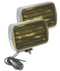06013-4 by GROTE - Per-Lux® 600 Series Fog and Driving Lamps, Yellow, All-Weather Lamp, Swivel Mount, Pair Pack