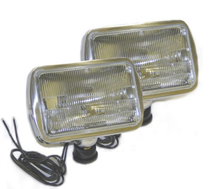 07001-4 by GROTE - Per-Lux® 700 Series Fog and Driving Lamps, Clear, All-Weather Lamp, Swivel Mount, Pair Pack, Fog