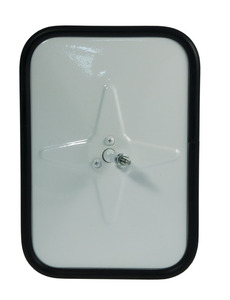 12101 by GROTE - Outer Protective Bumper Mirror, White