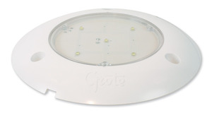 61391 by GROTE - S100 LED WhiteLight™ Surface Mount Dome Lamp, Clear