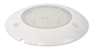 61401 by GROTE - S100 LED WhiteLight™ Surface Mount Dome Lamp, 24V, Clear
