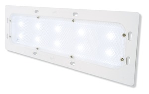 61881 by GROTE - LED WhiteLight™ Recessed-Mount Dome Lamp, Multiple Compartment Version, 400 Lumens, White