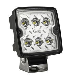 63E31 by GROTE - Trilliant® Cube LED Work Lamp, 1200 Lumen, Wide Flood