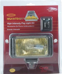 64093-5 by GROTE - FORWARD LIGHTING, YELLOW, HIGH INTENSITY FOG KIT, RETAIL PACK