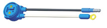 66910-3 by GROTE - Turtleback, 6″ Long, Chassis Ground, Slim-Line .180 Male