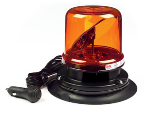 76693 by GROTE - RotoLED™ Class I LED Hybrid Beacon, Vacuum Mount