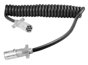 87181 by GROTE - UltraLink Power Cords, 1/10-6/12, 15′, w/48″ Lead, Coiled, HD