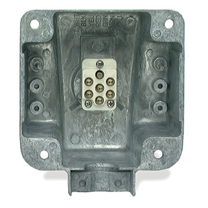 87830 by GROTE - Ultra-Pin Receptacle Four-Hole Mount Nose Box