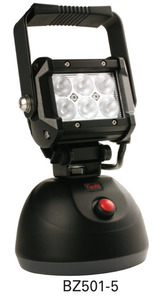 BZ501-5 by GROTE - BriteZone LED Work Light - HD 1100 Raw Lumens, Go Anywhere Hand Held