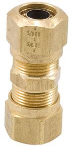 11204 by HALDEX - Union Fitting for Nylon Tubing