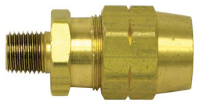 """11903 by HALDEX - Hose Fitting Assembly without Spring Guard - 1/4"""" NPT"""