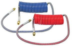 11955 by HALDEX - 15' Aircoil Set (1 Red & 1 Blue)