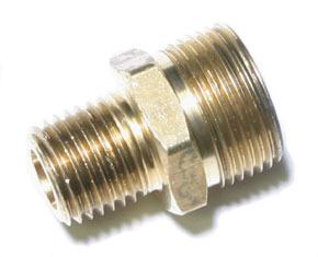 "N12306 by HALDEX - Air Hose Adapter if Female Swivel Thread Size is 3/8"""