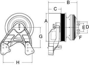 99A9562 by HORTON - CLUTCH DMA INTL 212.2 8-PK 65.0