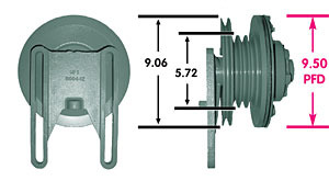 1077 by KIT MASTERS - Remanufactured Hub