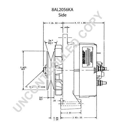 Leece Neville 8al2056ka on wiring diagram for power mirrors