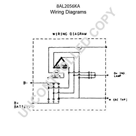 8al2056ka by leece neville high output alternator