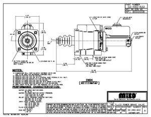 02-460-622 by MICO - 2-FLUID POWER BRAKE VALVE