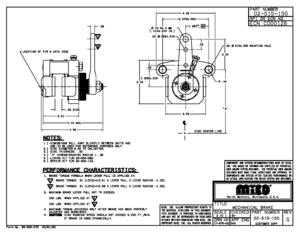 02-515-150 by MICO - MECH DISC BRAKE
