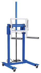 5105B by OTC TOOLS & EQUIPMENT - HIGH LIFT DUAL WHEEL DOLLY, 1,100 LB CAPACITY