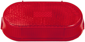 108-15R by PETERSON LIGHTING - 108-15 Clearance/Side Marker w/Reflector Replacement Lens