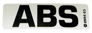 2954 by PETERSON LIGHTING - ABS Label