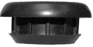 B177-18 by PETERSON LIGHTING - 177-18 Black Rubber Grommet