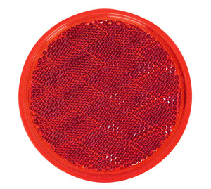 B475R by PETERSON LIGHTING - Round Quick-Mount Reflector - Red