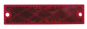 B487R by PETERSON LIGHTING - Compact Rectangular Reflector - Red