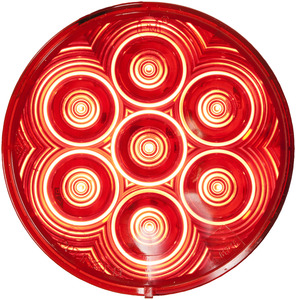 """PM817R-7 by PETERSON LIGHTING - 817R-7/818R-7 LumenX¨ 4"""" Round LED Stop, Turn & Tail Lights, AMP"""