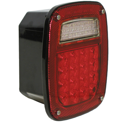 845 by PETERSON LIGHTING - 5/6 Function Rear Combination Light - w/o License Light
