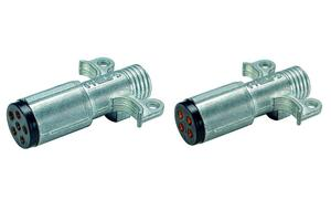 15-630 by PHILLIPS INDUSTRIES - 6 & 4-Way Connectors - 6-way plug with cable guard (Please allow 7 days for handling. If you wish to expedite, please call us.)