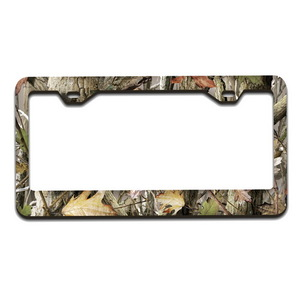 WL298-CZ by PILOT - Camouflage License Plate Frame