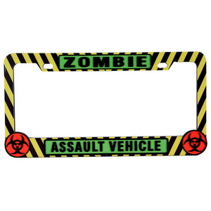 WL745 by PILOT - Zombie Cation License Frame