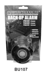 BU107 by POWER PRODUCTS - 107db 12-48v  Back Up Alarm