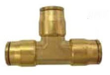 NP64-4 by POWER PRODUCTS - Nylon Push-On Union Tee 1/4