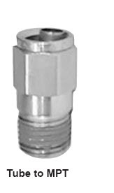 NP68-6-8 by POWER PRODUCTS - Nylon Push-On Male Conn 3/8 X 1/2