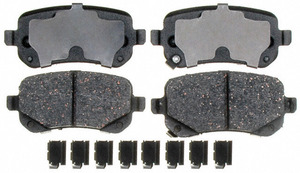 ATD1326C by RAYBESTOS - Disc Brake Pad  REAR