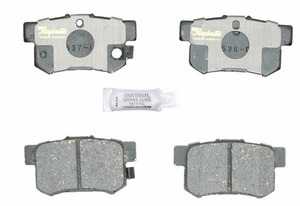 ATD537C by RAYBESTOS - Disc Brake Pad  RR