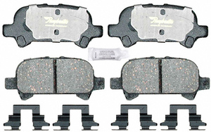 ATD828C by RAYBESTOS - Disc Brake Pad  RR