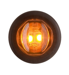 "MCL-11AKB by REDNECK TRAILER - LED CLR/MKR AMBER 3/4"" UNILITE KIT"
