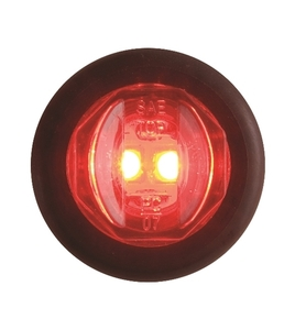 "MCL-11RKB by REDNECK TRAILER - LED CLR/MKR RED 3/4"" UNILITE KIT"