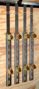 RA-13 by REDNECK TRAILER - RACK'EM SHELF KIT FOR ENCLOSED TRAILER