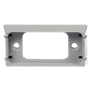 00790 by TRUCK-LITE - Bracket Mount, 15 Series Lights, Used In Rectangular Shape Lights, Gray ABS, 2 Screw Bracket Mount