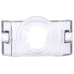 00801 by TRUCK-LITE - Bracket Mount, 2 in Diameter Lights, Used In Round Shape Lights, Clear Polycarbonate, 2 Screw Bracket Mount