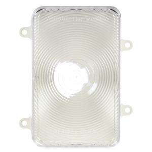 07096C3 by TRUCK-LITE - Incandescent, Clear Rectangular, 1 Bulb, Back-Up Light, White Bracket Mount, Socket Assembly, Bulk