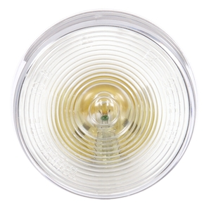 10202C by TRUCK-LITE - 10 Series, Incandescent, 1 Bulb, Round Clear, Utility Light, PL-10, 12V